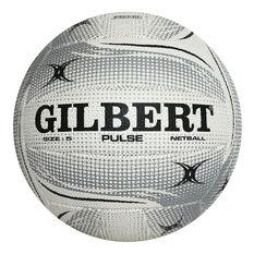 Gilbert Pulse Netball White 4, White, rebel_hi-res