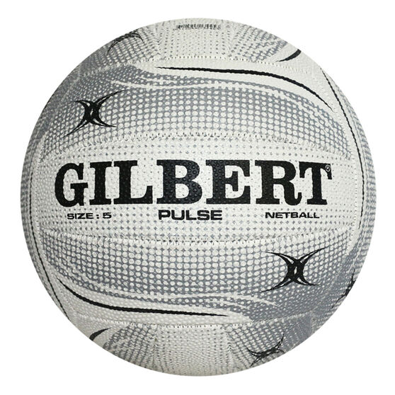 Gilbert Pulse Netball White 4, White, rebel_hi-res