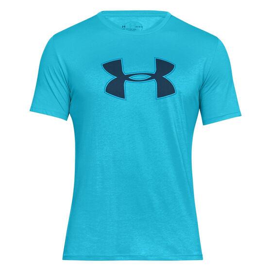 Under Armour Mens Big Logo Sportswear Tee, , rebel_hi-res