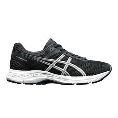 Asics Gel Contend 5 Mens Running Shoes Black US 7, Black, rebel_hi-res