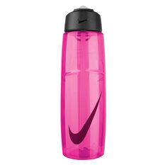 Nike T1 Flow 946ml Water Bottle Pink 946ml, Pink, rebel_hi-res