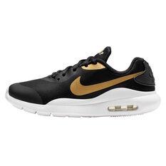 Nike Air Max Oketo Kids Casual Shoes Black / Gold US 5, Black / Gold, rebel_hi-res