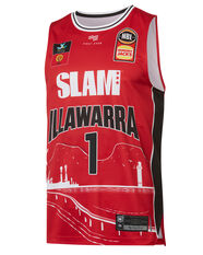 Illawarra Hawks LaMelo Ball City Edition 2019/20 Mens Jersey Red S, Red, rebel_hi-res