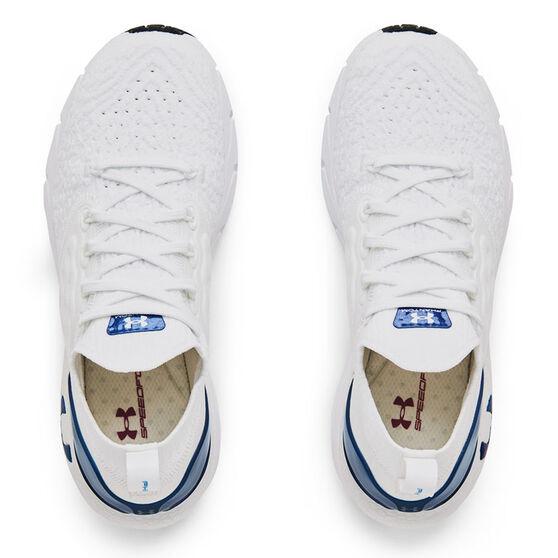 Under Armour HOVR Phantom 2 Colourshift Womens Running Shoes, White/Blue, rebel_hi-res