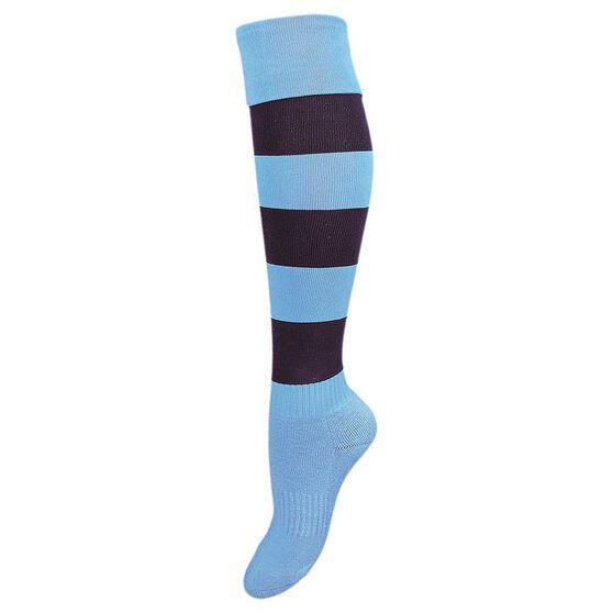 Burley New South Wales Kids Football Socks, , rebel_hi-res