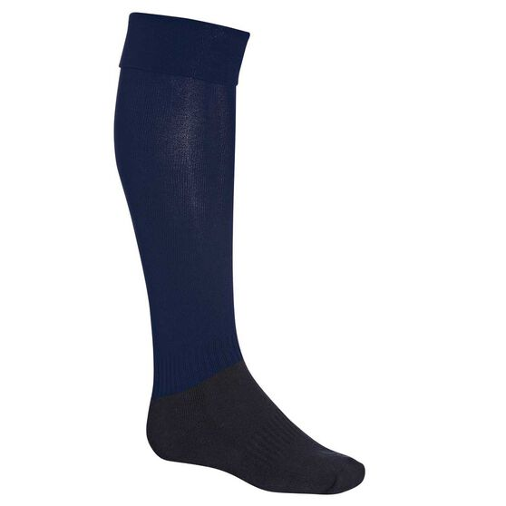 Burley Football Socks, Navy, rebel_hi-res
