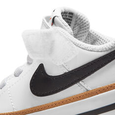 Nike Court Legacy Toddlers Shoes, White/Black, rebel_hi-res