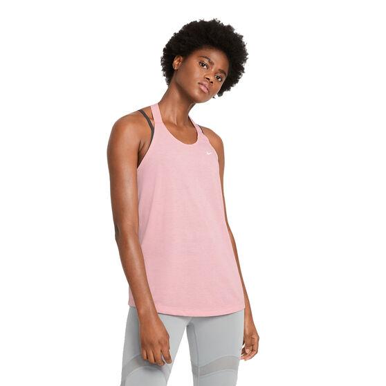 Nike Womens Dri-FIT Training Tank, Pink, rebel_hi-res
