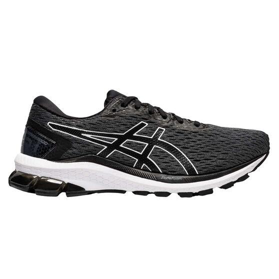 Asics GT 1000 9 Womens Running Shoes, Grey / Black, rebel_hi-res