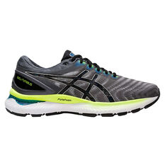 Asics GEL Nimbus 22 Mens Running Shoes Grey/Black US 7, , rebel_hi-res