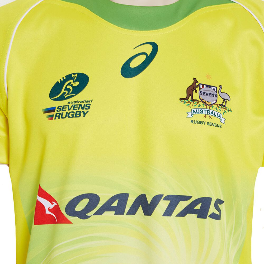 Australian Sevens 2017 Mens Replica Home Jersey L Rebel Sport