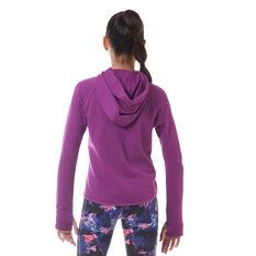 Ell & Voo Girls Stella Jacket Purple 8 8, Purple, rebel_hi-res
