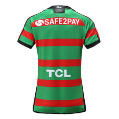 South Sydney Rabbitohs 2020 Womens Home Jersey Green / Red 8, Green / Red, rebel_hi-res