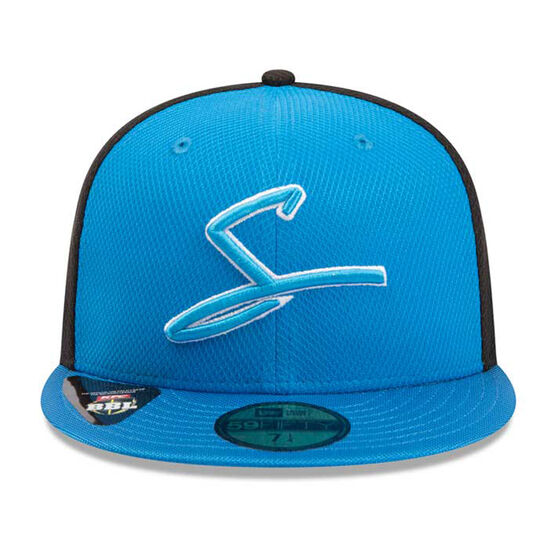 Adelaide Strikers New Era 59FIFTY Home Cap, Blue, rebel_hi-res