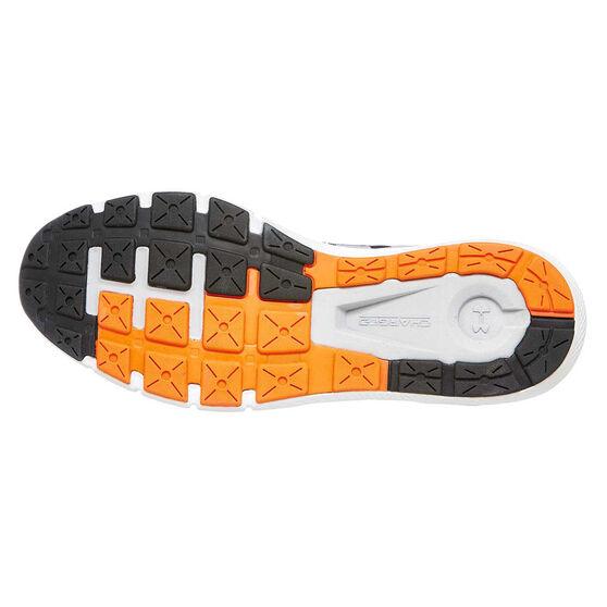 Under Armour Charged Rogue Mens Running Shoes Grey / Orange US 8.5, Grey / Orange, rebel_hi-res