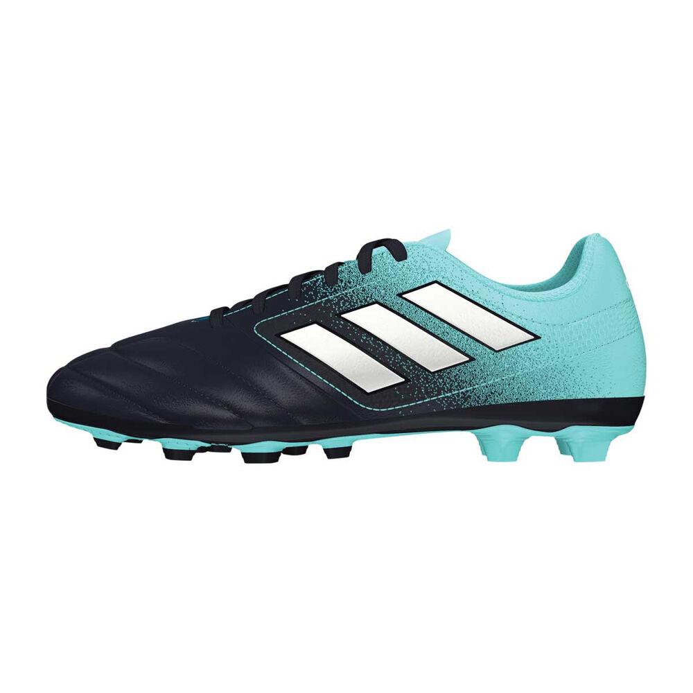 official photos eb247 9d6a5 adidas ACE 17.4 FXG Junior Football Boots White   Aqua US 11 Junior, White