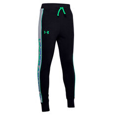 Under Armour Boys Rival Terry Pants Black XS, Black, rebel_hi-res
