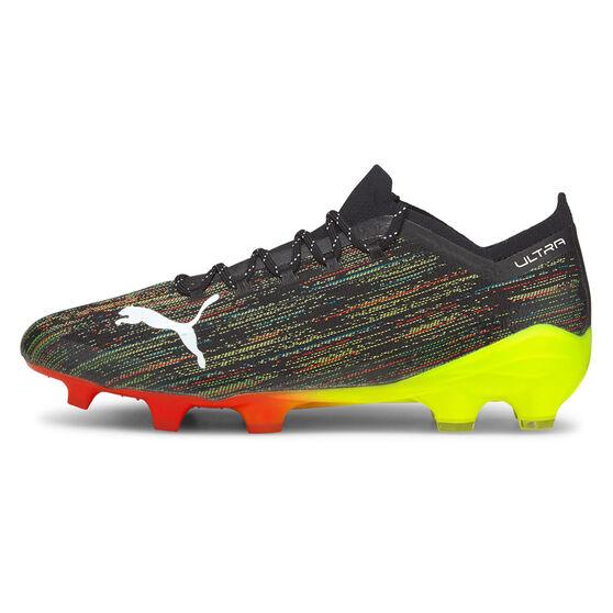 Puma Ultra 1.2 Football Boots Black US Mens 8 / Womens 9.5, Black, rebel_hi-res