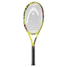 Head MX Spark Elite Tennis Racquet Yellow 4 1 / 4in, Yellow, rebel_hi-res