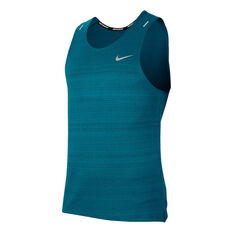 Nike Mens Dri-FIT Miller Tank Blue S, Blue, rebel_hi-res