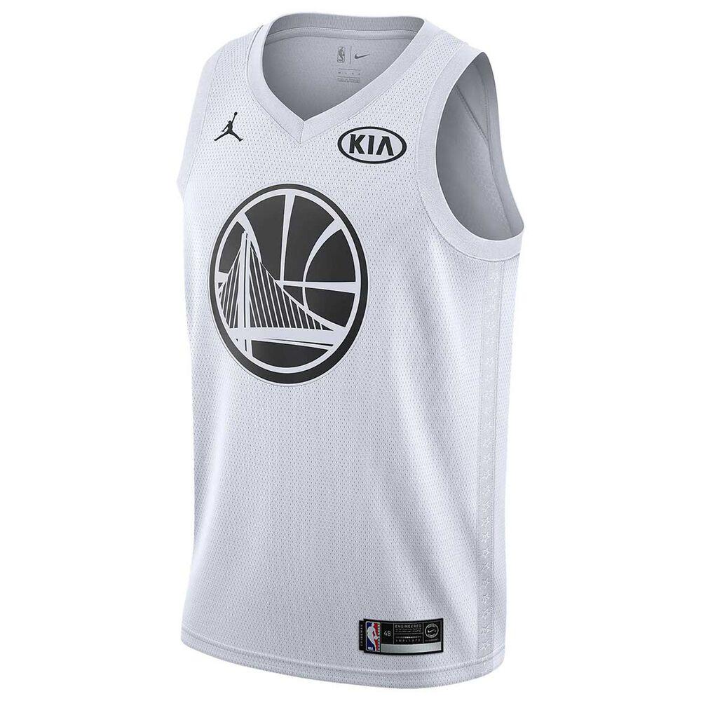 356871fc745 Jordan Stephen Curry All Star 2018 Mens Swingman Jersey White S ...