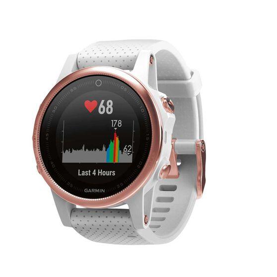 Garmin Fenix 5S Sapphire GPS Heart Rate Watch Rose Gold, , rebel_hi-res