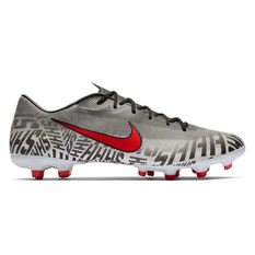 Nike Mercurial Vapor XII Academy Neymar Jr Football Boots White / Black US Mens 7 / Womens 8.5, White / Black, rebel_hi-res