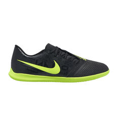 Nike Phantom Venom Club Indoor Soccer Shoes Black / Green US Mens 7 / Womens 8.5, Black / Green, rebel_hi-res