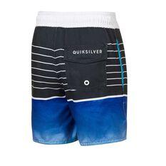Quiksilver Toddler Boys Swell Vision Board Shorts Blue 2, Blue, rebel_hi-res
