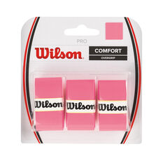 Wilson Pro Tennis Overgrip Pink, Pink, rebel_hi-res