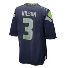 Seattle Seahawks Russell Wilson 2020 Mens Jersey, Navy, rebel_hi-res