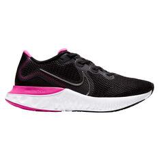 Nike Renew Run Womens Running Shoes, Black / Grey, rebel_hi-res