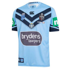 NSW Blues State of Origin 2019 Mens Jersey Blue S, Blue, rebel_hi-res