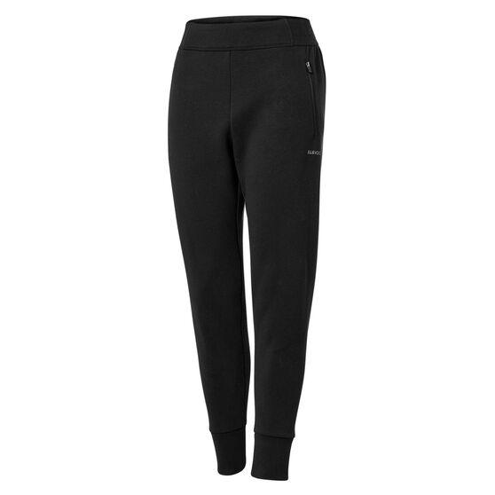 Ell & Voo Womens Helen Training Jogger Pants, Black, rebel_hi-res