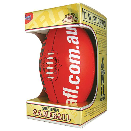 Sherrin Official AFL Game Ball, , rebel_hi-res