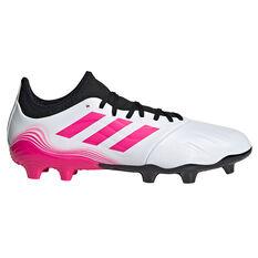 adidas Copa .3 Football Boots White US Mens 7 / Womens 8, White, rebel_hi-res