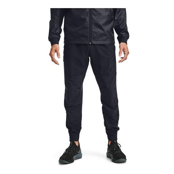Under Armour Mens Project Rock Unstoppable Pants, Black, rebel_hi-res