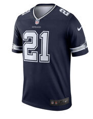 Dallas Cowboys Ezekiel Elliott 2020 Mens Jersey, Navy, rebel_hi-res