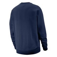 Nike Sportswear Mens Club Sweatshirt Navy XS, Navy, rebel_hi-res