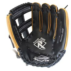 Reliance 11.5in Diamond Right Hand Throw Baseball Glove Black / Tan, , rebel_hi-res