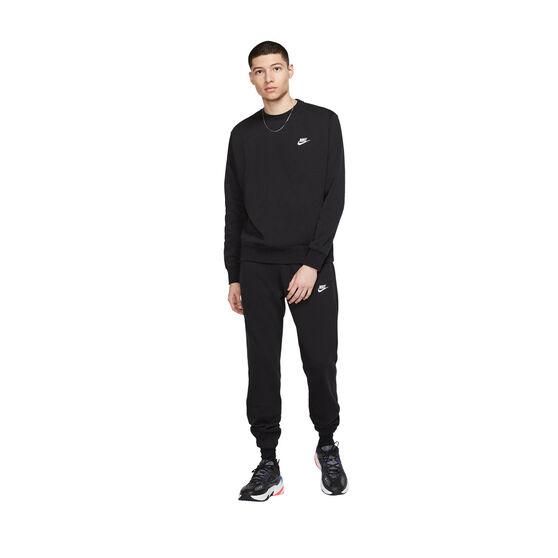 Nike Sportswear Mens Club Sweatshirt, Black, rebel_hi-res