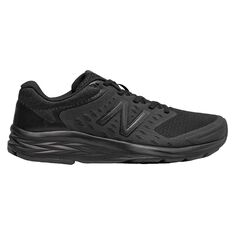 New Balance 490 Womens Running Shoes Black US 6, Black, rebel_hi-res