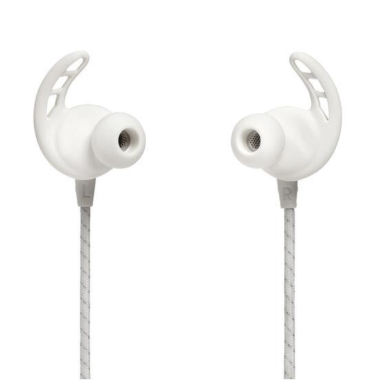 Under Armour React Wireless Sports Earphones White, White, rebel_hi-res