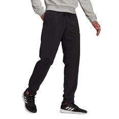 adidas Mens AEROREADY Tapered Stanford Pants Black XS, Black, rebel_hi-res