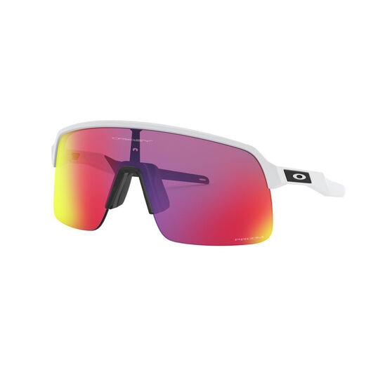 OAKLEY Sutro Lite Sunglasses - Matte White with PRIZM Road, , rebel_hi-res