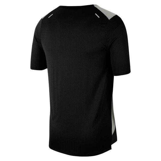 Nike Mens Rise 365 Future Fast Running Tee, Black, rebel_hi-res