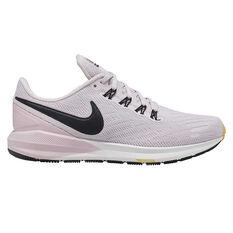 Nike Air Zoom Structure 22 Womens Running Shoes Purple / Black US 6.5, Purple / Black, rebel_hi-res