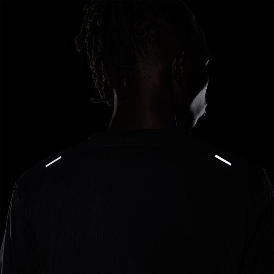 Nike Mens Run Division Rise 365 Tee, Black, rebel_hi-res