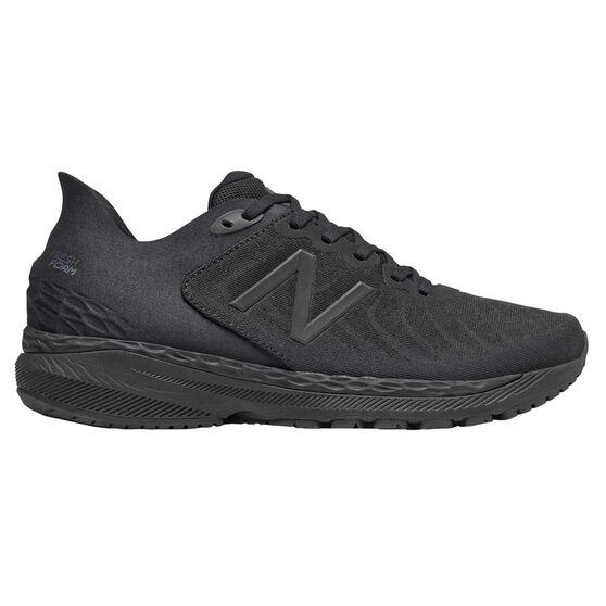 New Balance 860 v11 2E Mens Running Shoes, Black, rebel_hi-res