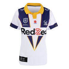 Melbourne Storm 2021 Womens Heritage Jersey White XS, White, rebel_hi-res